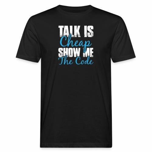 Talk is Cheap - Männer Bio-T-Shirt