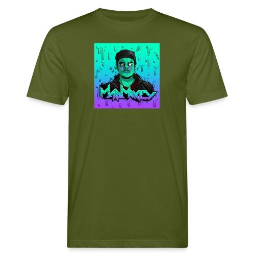 MadMikey Grime Art Sticky Green - Mannen Bio-T-shirt