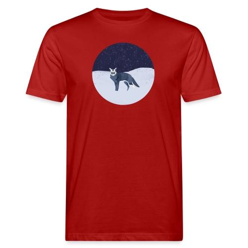 Blue fox - Miesten luonnonmukainen t-paita