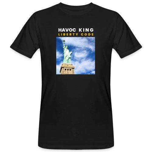 Havoc King Cover - Männer Bio-T-Shirt