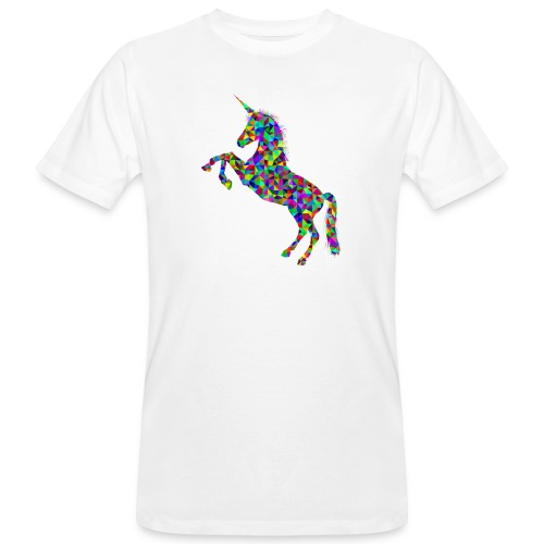 unicorn - Männer Bio-T-Shirt