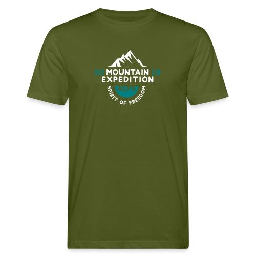 MOUNTAIN EXPECTION - ALPS - T-shirt ecologica da uomo