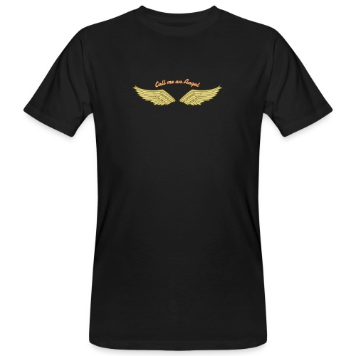 Angel - Männer Bio-T-Shirt