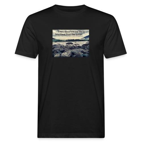 Oceanheart - Økologisk T-skjorte for menn