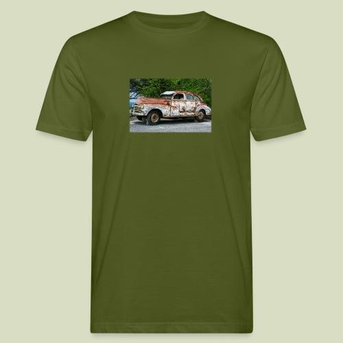RustyCar - Miesten luonnonmukainen t-paita