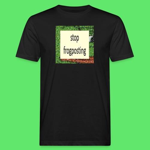 Frogposter - Men's Organic T-Shirt