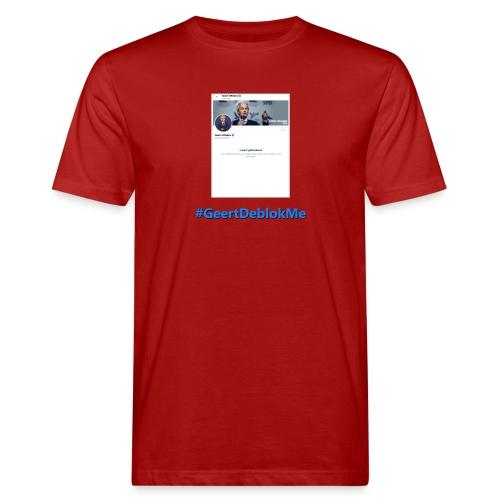 #GeertDeblokMe - Mannen Bio-T-shirt