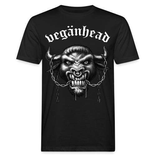 Veganhead - Männer Bio-T-Shirt