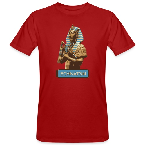 Echnaton – Sonnenkönig von Ägypten - Männer Bio-T-Shirt