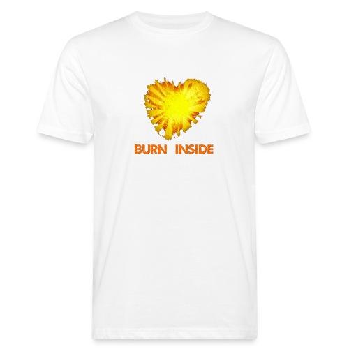 Burn inside - T-shirt ecologica da uomo