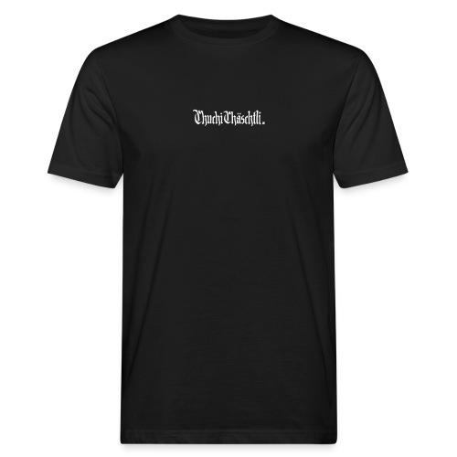 Chuchichaeschtli shirt Black - Männer Bio-T-Shirt