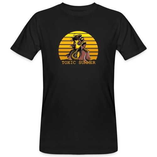 Toxic Summer - Camiseta ecológica hombre