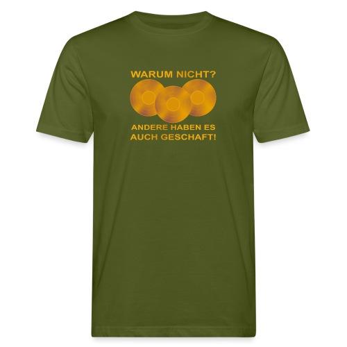Goldene Schallplatte - Männer Bio-T-Shirt
