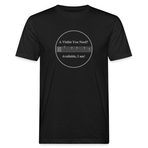 Viola Joke 02 - Männer Bio-T-Shirt
