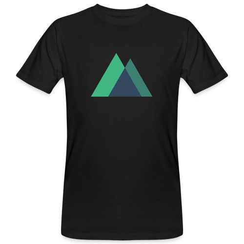 Mountain Logo - Men's Organic T-Shirt