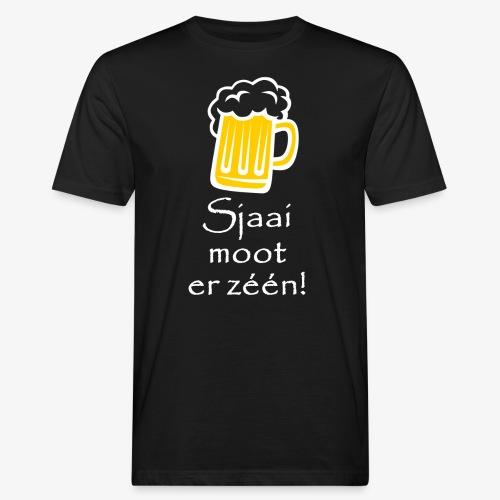 Sjaai moot er zéén - Mannen Bio-T-shirt