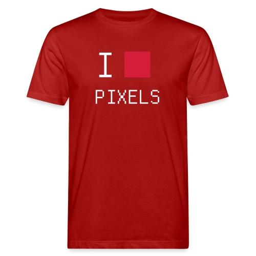 I love pixels chemise nerd - T-shirt bio Homme