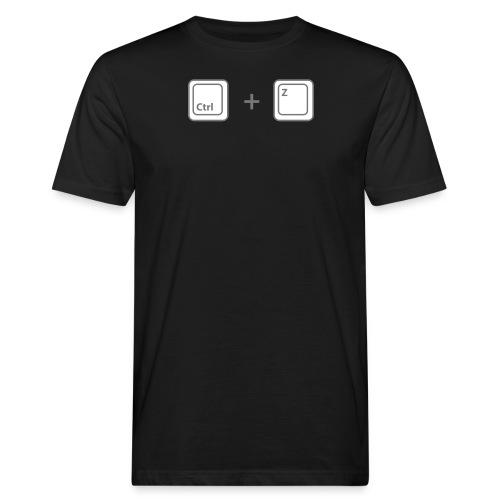 ctrl z - T-shirt bio Homme