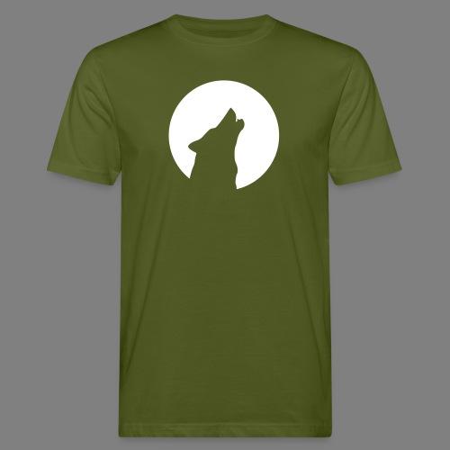 wolfmoon - Männer Bio-T-Shirt