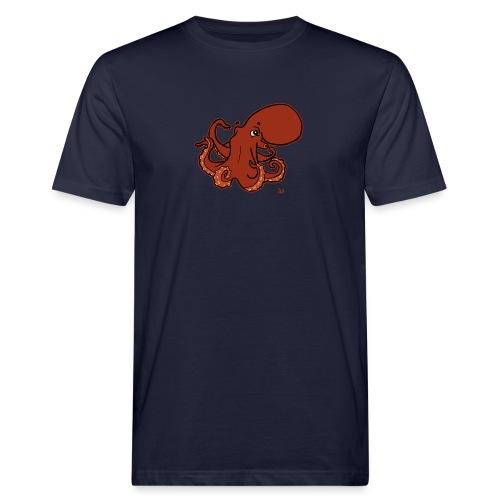 Giant Pacific Octopus (black edition) - Økologisk T-skjorte for menn