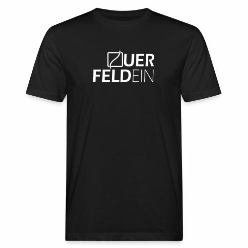 Querfeldein Logo - Männer Bio-T-Shirt