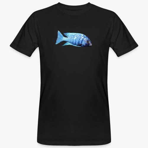 MIXED AFRICAN CICHLIDS - Men's Organic T-Shirt