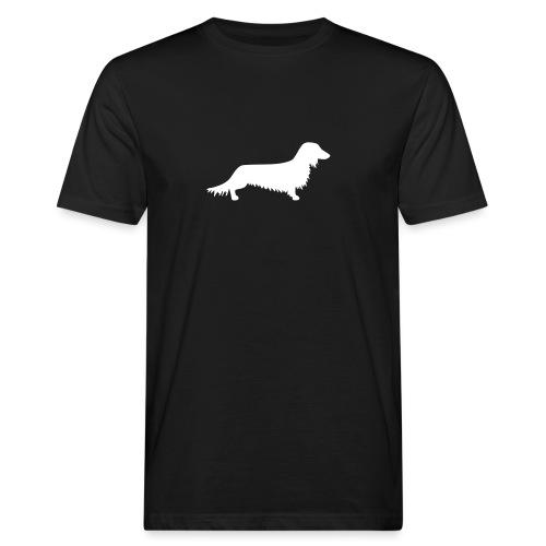 Langhaardackel - Männer Bio-T-Shirt