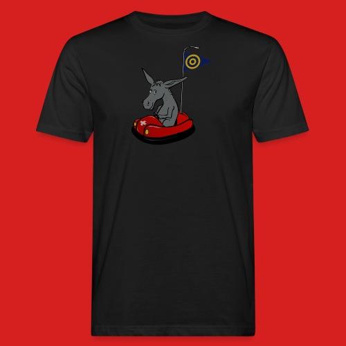Autoscooter Esel - Männer Bio-T-Shirt