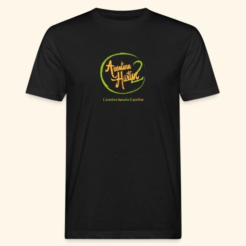 logo AventureHustive 2 - T-shirt bio Homme