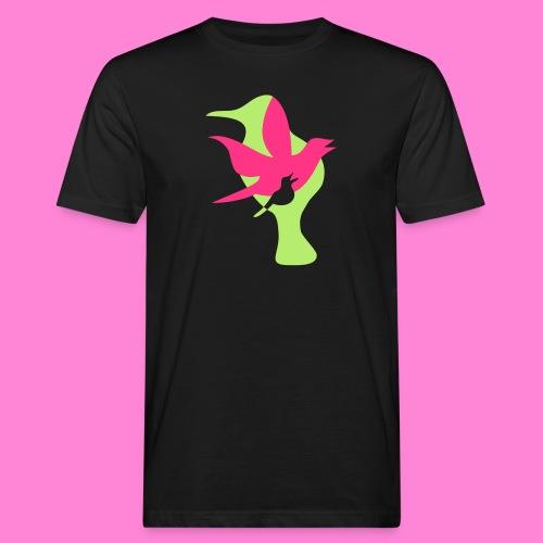 birds - Mannen Bio-T-shirt