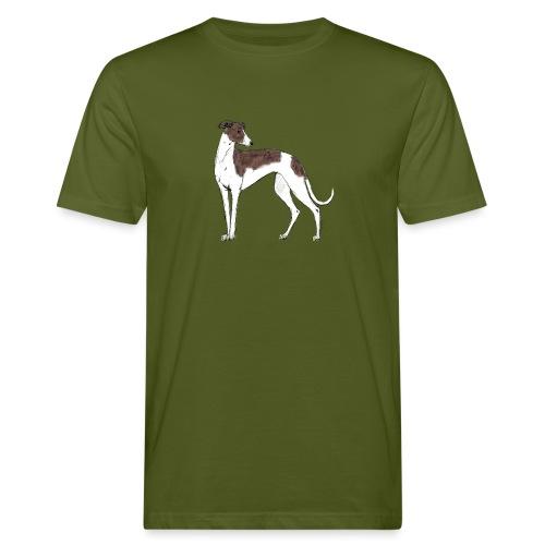 Greyhound - Männer Bio-T-Shirt