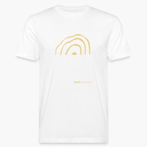 wickedrainbow uni - Mannen Bio-T-shirt
