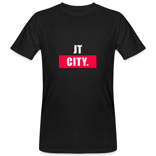 JT CITY - Mannen Bio-T-shirt