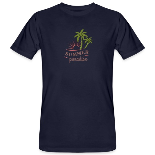 Summer paradise - Men's Organic T-Shirt