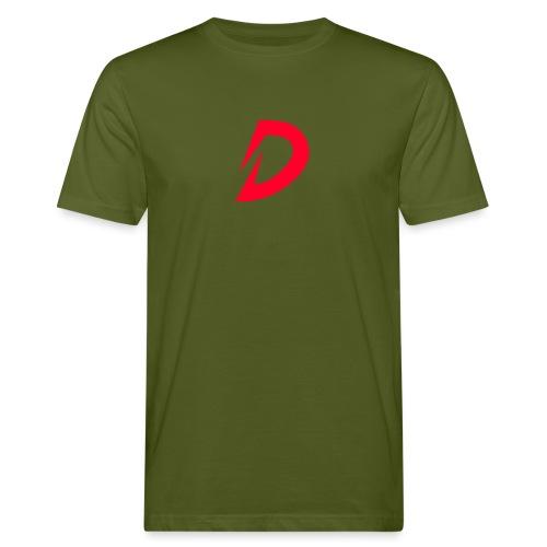 Destra Logo by Atelier render red - Mannen Bio-T-shirt
