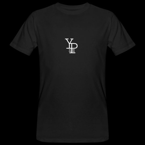 YO_NG PA_DA WHITE DESIGN - Männer Bio-T-Shirt