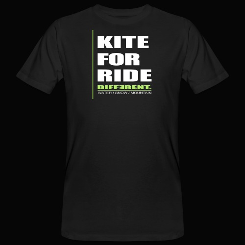 Kite For Ride - T-shirt bio Homme