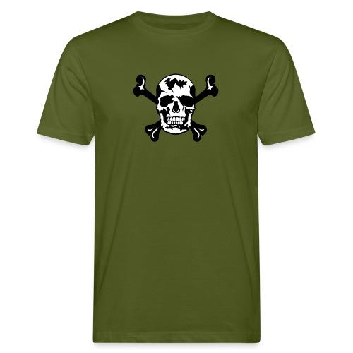 tete de mort os squelette 2901 - T-shirt bio Homme