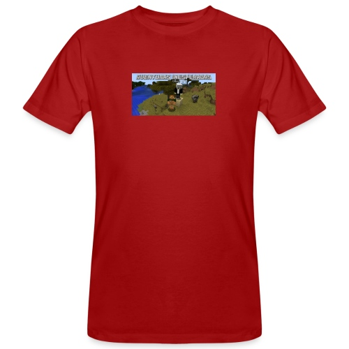 minecraft - Men's Organic T-Shirt