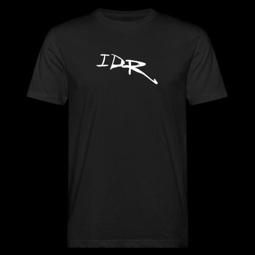 IDR Signature | White - Men's Organic T-Shirt