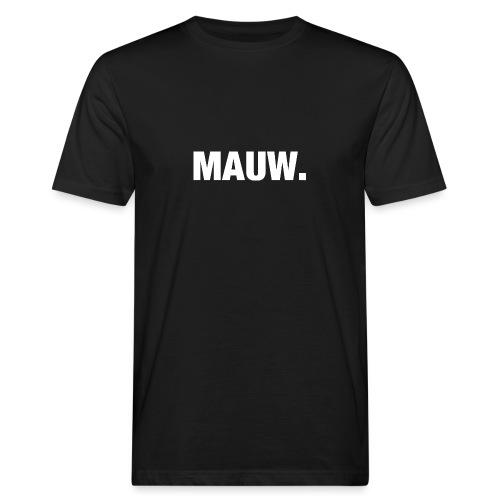 MAUWwit - Mannen Bio-T-shirt