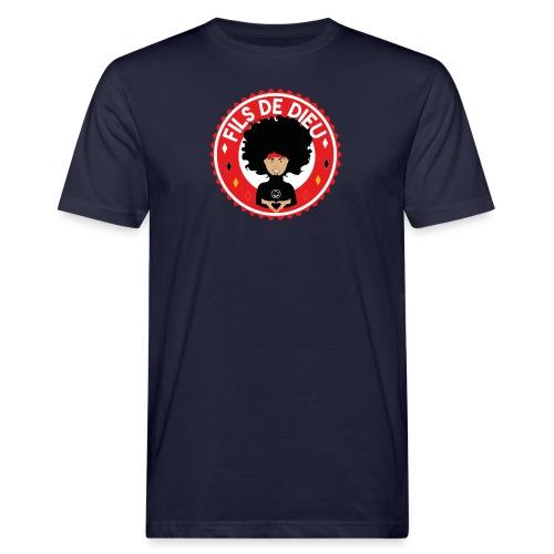 Fils de Dieu rouge - T-shirt bio Homme