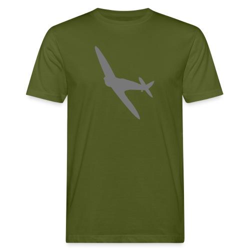 Spitfire Silhouette - Men's Organic T-Shirt
