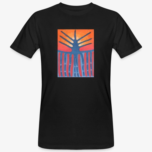 drzewo prehistoryczne 1 - Ekologiczna koszulka męska