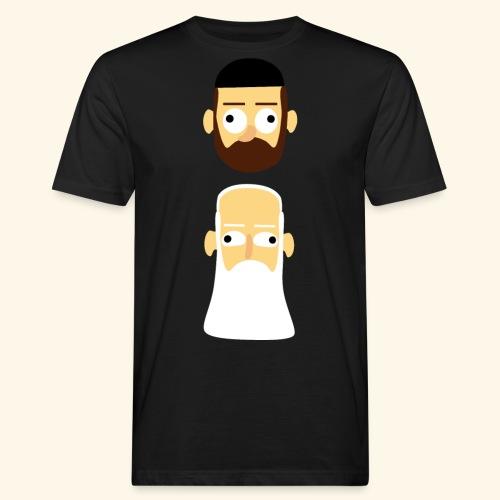 Stille Willem en Leipe Leo - Mannen Bio-T-shirt