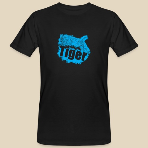 Blue Tiger - T-shirt bio Homme