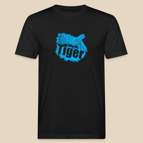 Blue Tiger - T-shirt bio Homme
