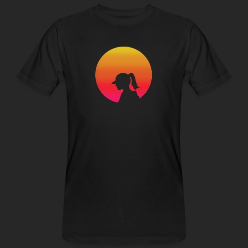Gradient Girl - Men's Organic T-Shirt