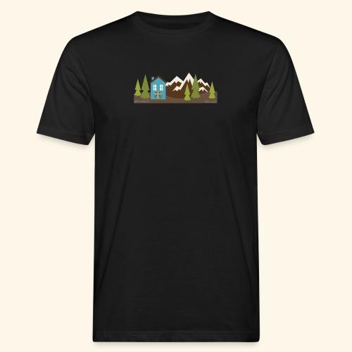 casettaAC - T-shirt ecologica da uomo