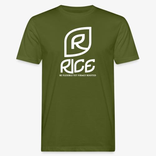 rice vector - Mannen Bio-T-shirt